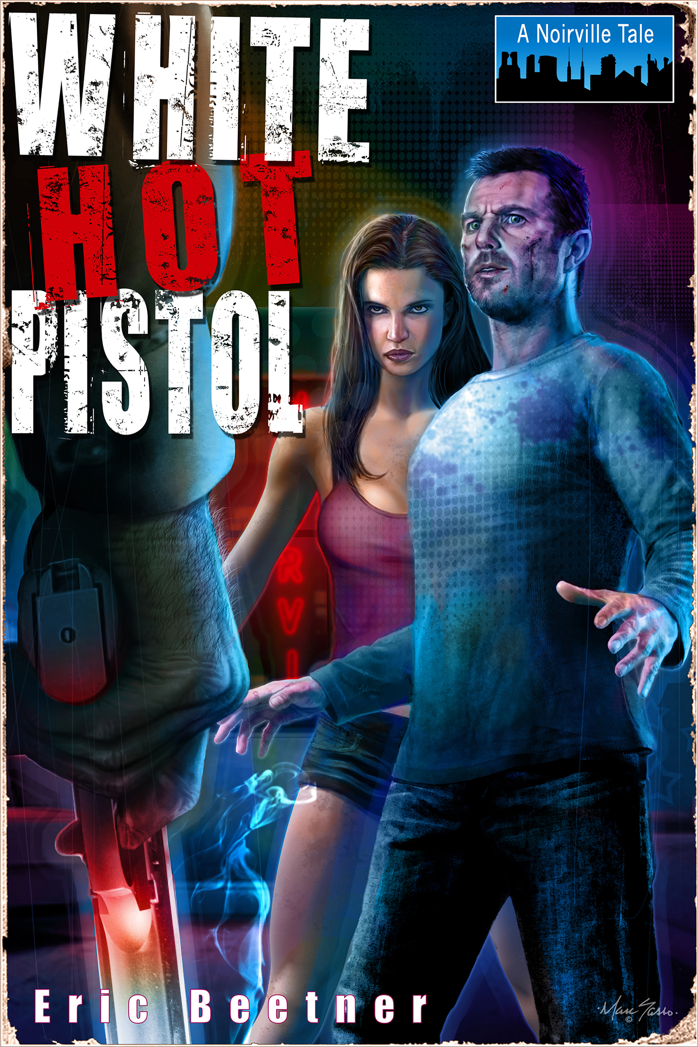 Скачать White Hot Pistol - Eric Beetner