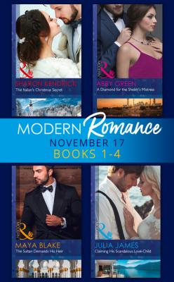 Modern Romance Collection: November 2017 Books 1 - 4 - Julia James Mills & Boon e-Book Collections